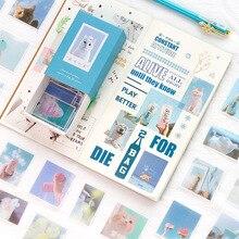Милые животные Шиба Радуга пуля журнал Декоративные Канцелярские наклейки Скрапбукинг DIY дневник альбом палка