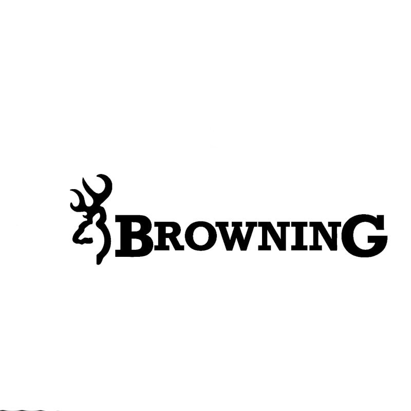Hot Sell Personality Browning Hunt Deer Car Stickers Decals Accessories Auto Decorative Stickers PVC 13cm X 6cm