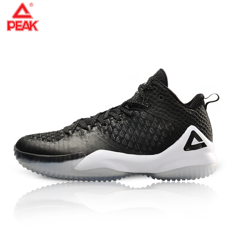 PEAK Men Basketball Sneakers Street Basketball Culture Sports Shoes High Quality Lou Williams Basketball Shoes For Men