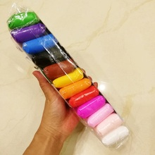 24 צבע רפש פולימר חימר צעצוע עם 3 כלי חינוכי צעצוע פלסטלינה ילד ילדה יום הולדת מתנת חג המולד מתנה אוויר יבש אור חימר