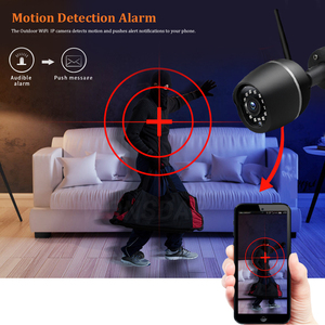 Image 2 - Wonsdar 1080P WIFI IP Camera Outdoor HD Metal Wireless Wired Bullet Security Camera Mini Weatherproof Night Vision P2P