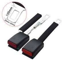 Universal Seat Belt Extender Steel Safety Belt Buckle for 20 22MM Tongue Car Seat Belt Clip Extension Plug Buckle Seat belt Clip