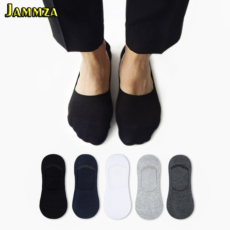 5Pairs Mens New Cotton Invisible Socks Cheapest High Quality Black Low Cut Ankle Loafer White No Show Business Sporty Solid Sock in Men 39 s Socks from Underwear amp Sleepwears