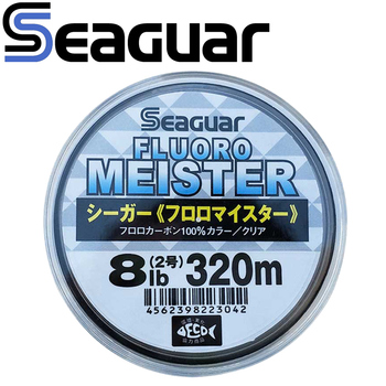 Original Seaguar Fishing Line FLUOROCARBON MEISTER 320M/240M Fluorocarbon Fishing Line Wear Resistant Made in Japan image