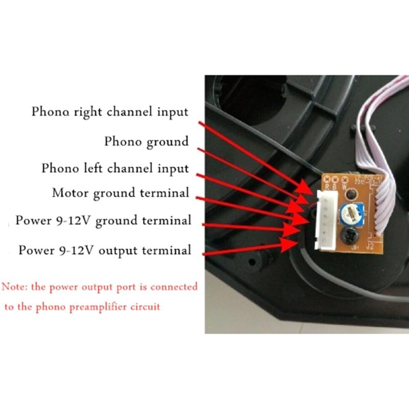 28cm Accessories Parts Turntable Turntable 3 Speed(33/45/78 RMP) For Lp Vinyl 270B