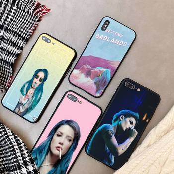 Yinuoda Halsey Colors Lyrics Phone Case cover For iPhone X 8 7 6 6S Plus XS MAX 5 5S SE XR 11 12 Pro Promax coque image