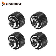 4PCS Barrow Wasser Kühlung OD 12mm 14mm 16mm Hart Rohr Hand Kompression Armaturen G1/4 ''TFYKN-T12/T14/T16(China)