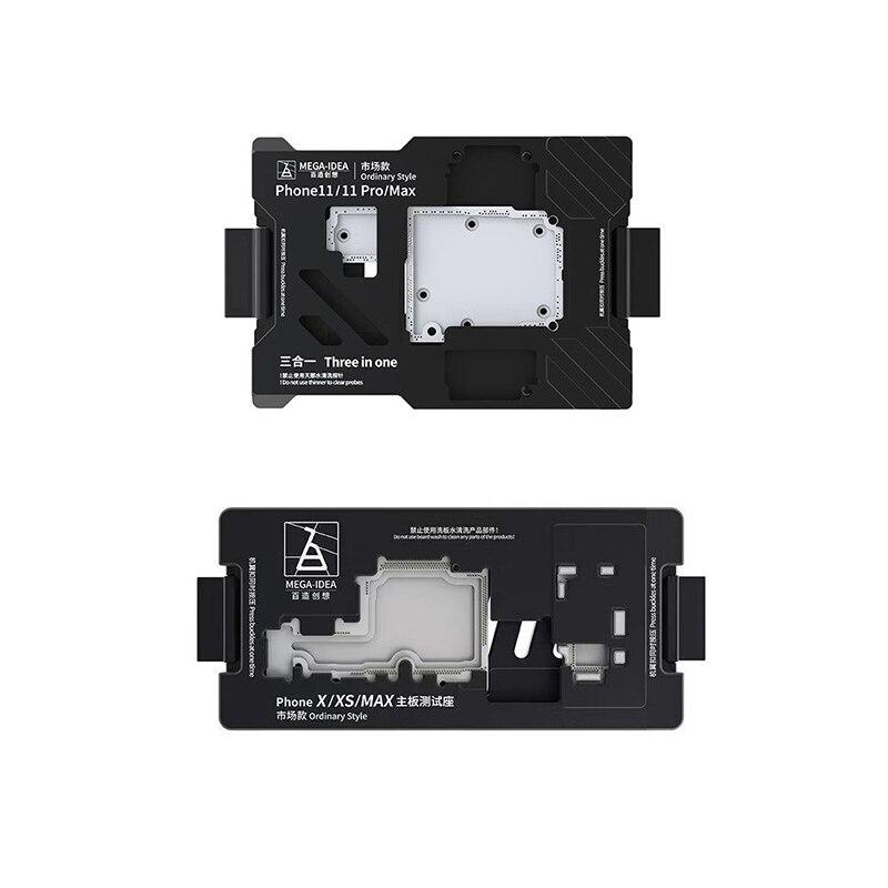Qianli Mega-idea Phone X-11ProMax Motherboard Fixture iSocket Jig Logic Board Fast Test Holder for Mainboard Repair