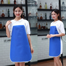 Non-woven waterproof anti-fouling apron daily necessities home sleeveless kitchen waist multi-color adult gown