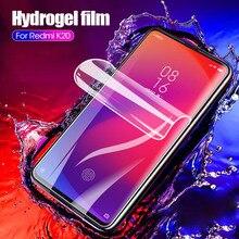 Гидрогелевая мягкая пленка для Xiaomi A2 Mix3 Mi6X Защитная пленка для Redmi K20 6A 7A 6 7 Note 7 6 Pro ультратонкая HD защитная пленка