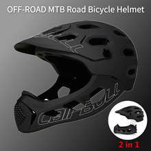 Cairbull Full Face Bike Helmet MTB Mountain Road Sport Safety Bicycle Helmet Motorcycle DH Downhill Cycling Helmet Casco BMX