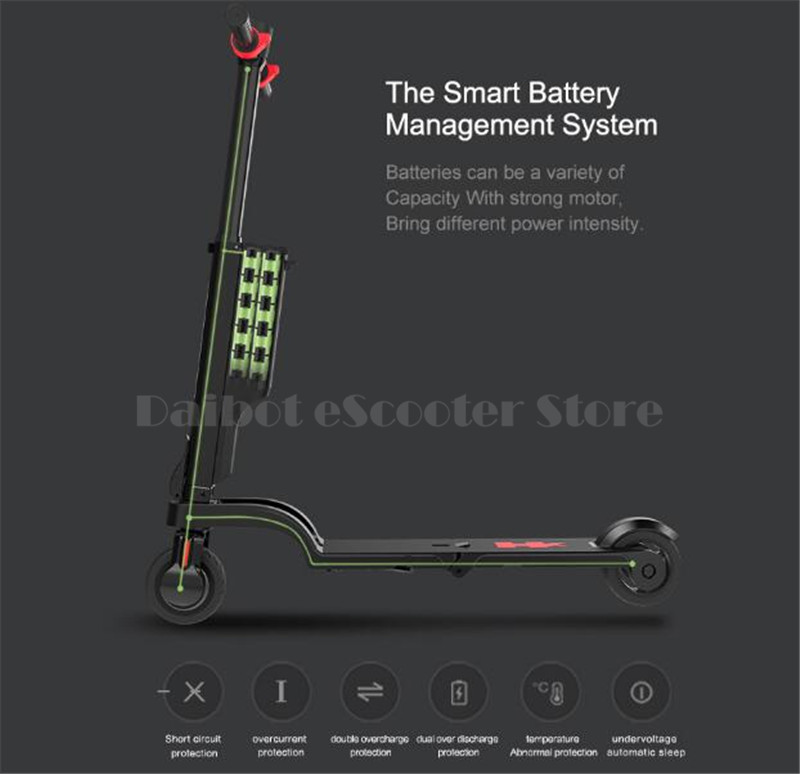 HX X6 Folding Electric Scooter Two Wheel Electric Scooters Mini Protable Backpack E-Scooter Electric Bike Ebike                  (22)