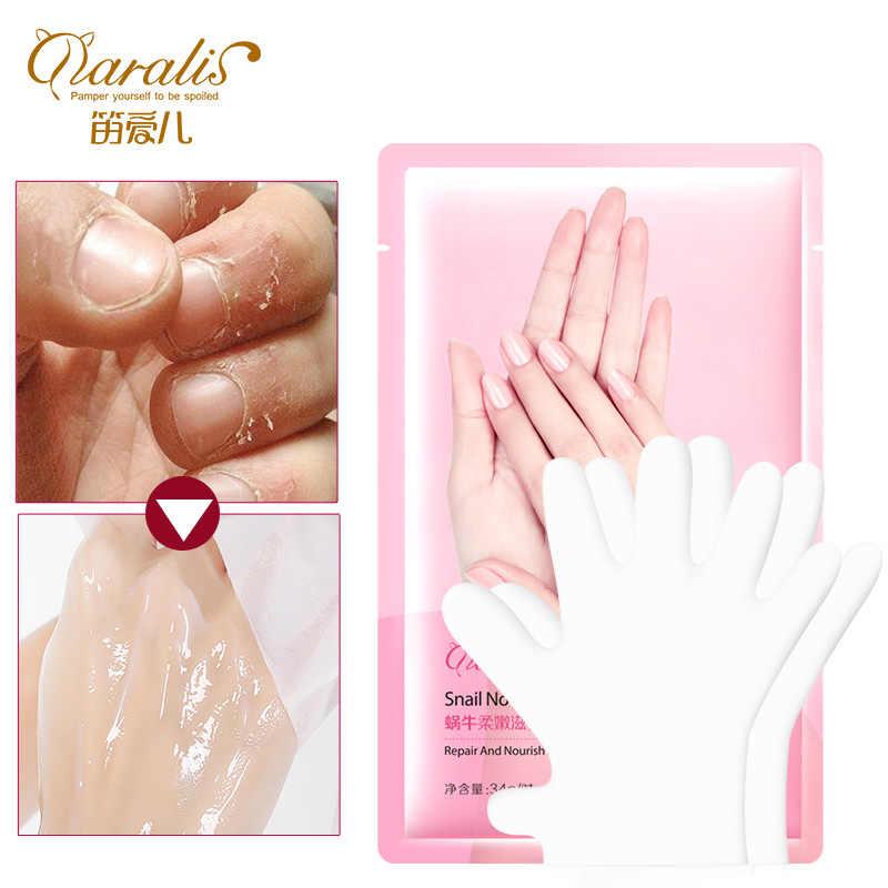 Daralis 1PAIR=2PCS Hand Mask Exfoliating Mask for Hands Care Peeling Nourish Moisture Whitening Masks for Hands Gloves Skin Care