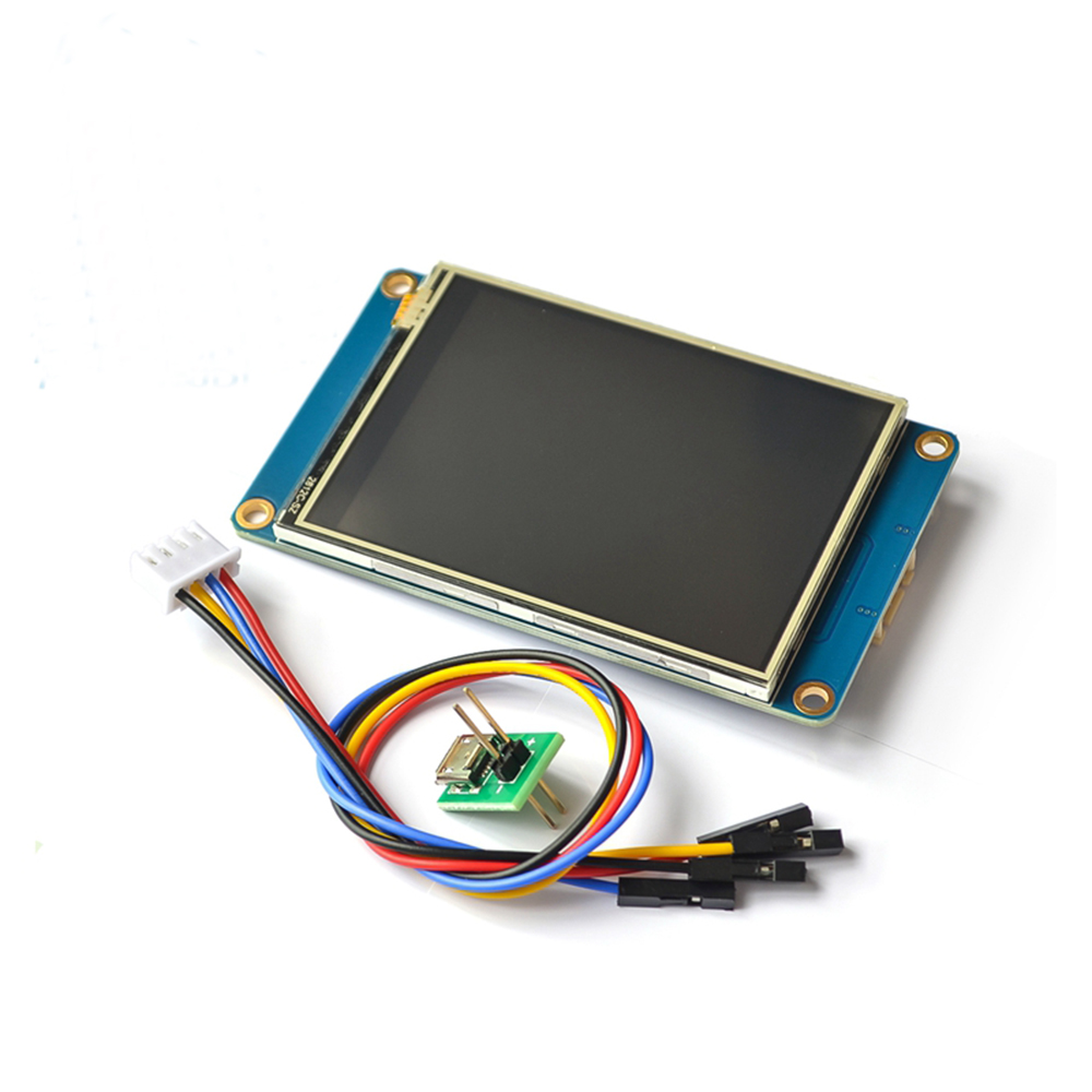 Nextion 2.4 Inch TFT 320 X 240 Resistive Touch Screen UART HMI Serial LCD Module Display For Arduino Raspberry Pi 2 A+ Nextion