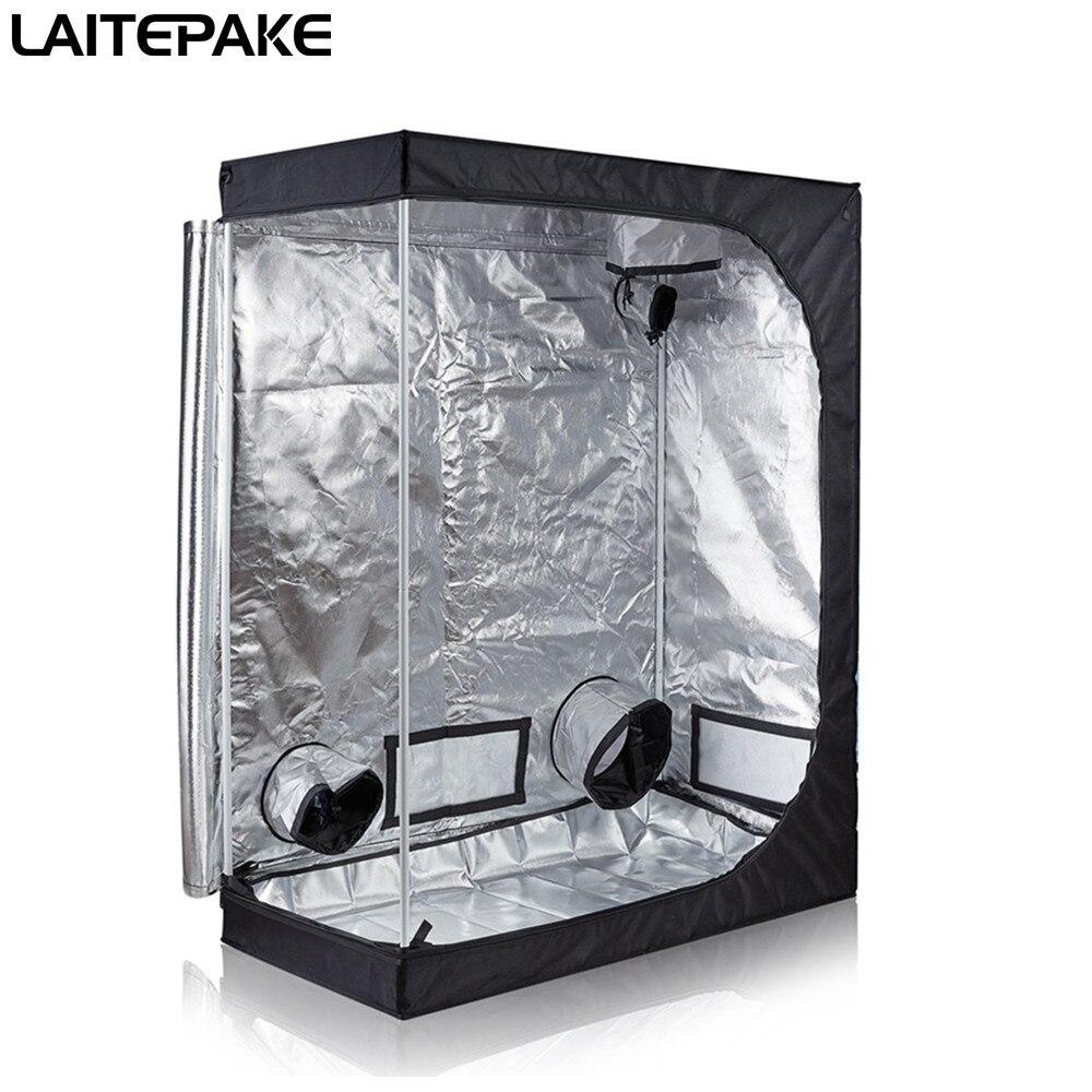 120*60*150 см комнатного гидропоника, шатер для выращивания садового теплицы светоотражающий майлар нетоксичный комнатный ящик для роста палат