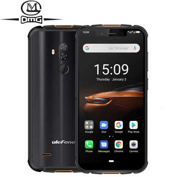 Ulefone Armor 5S IP68 Waterproof Mobile Phone NFC Android 9.0 4GB+64GB MT6763 Otca-core wireless charge 4G LTE Rugged Smartphone - DISCOUNT ITEM  0% OFF All Category