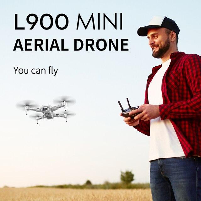 Zangão l900 pro 5g gps 4k dron com câmera hd fpv 28min tempo de vôo sem escova do motor quadcopter distância 1.2km profissional drones 6