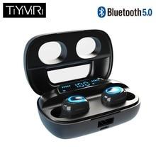 TiYiViRi TP02 bluetooth headset 5.0 tws wireless earphones twins earbuds 5d ster