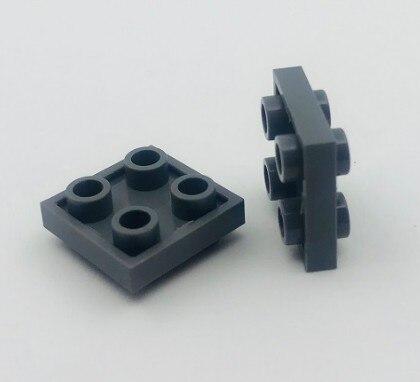 * Пластина 2x2 Вт. Ручки с обеих сторон * D034 20 шт DIY Просветленный блок кирпич часть №, совместим с другими сборками частиц