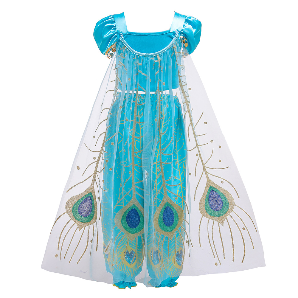 Hc514213047e0413180bfd75e84286d89c Unicorn Dress Birthday Kids Dresses For Girls Costume Halloween Christmas Dress Children Party Princess Dresses Elsa Cinderella