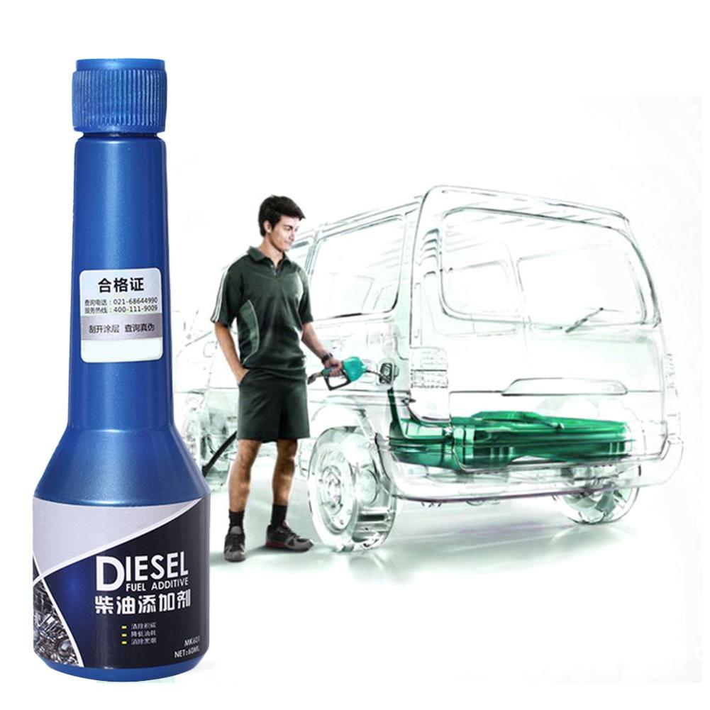 2PCS Diesel Fuel Additive Diesel Injector Cleaner Diesel Saver Engine Carbon Deposit Save Diesel Increase Power Oil Additive