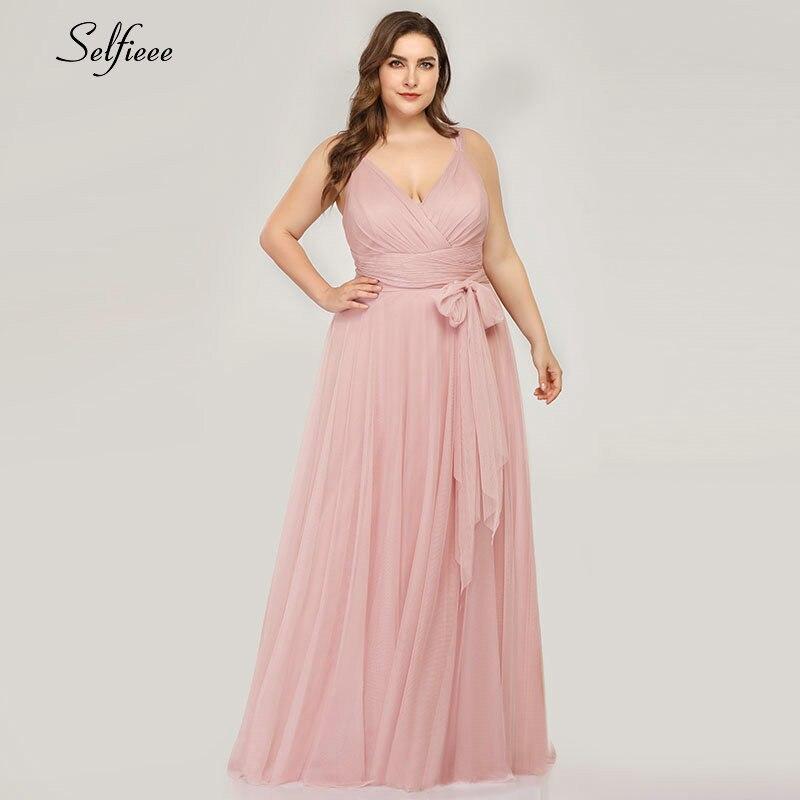 캐주얼 플러스 사이즈 맥시 드레스와 새시 비치 5xl 6xl 7xl 우아한 라인 긴 여자 드레스 2020 봄 여름 Femme 가운 드 Soiree-에서드레스부터 여성 의류 의