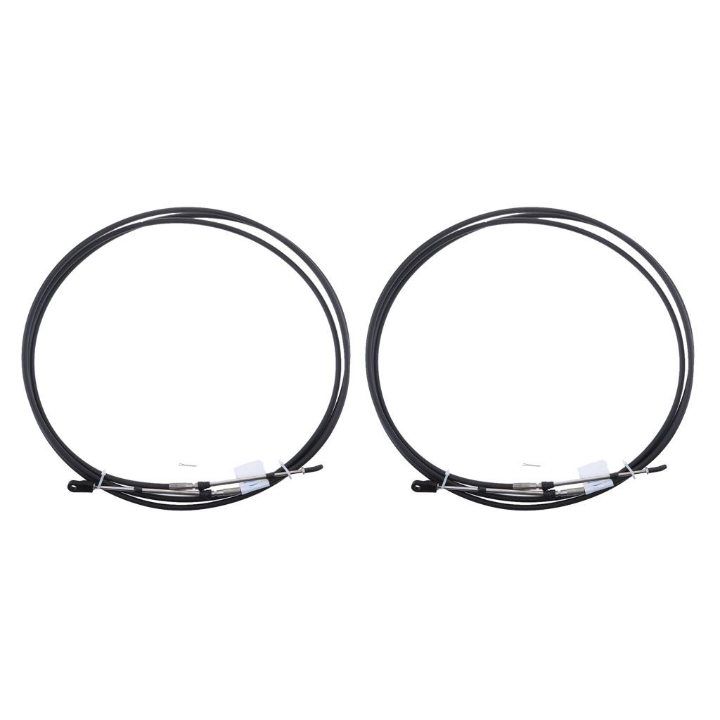 2pcs 10 FT Universal Shift Control Cable For Boat Throttle Control Lever