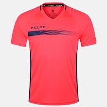 Мужская футбольная форма KELME, Футбольная форма для детей, летние тренировочные костюмы, оригинальная командная Джерси с коротким рукавом, д...