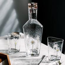 Стакан для воды холодный чайник треугольник ручная роспись Хризантема