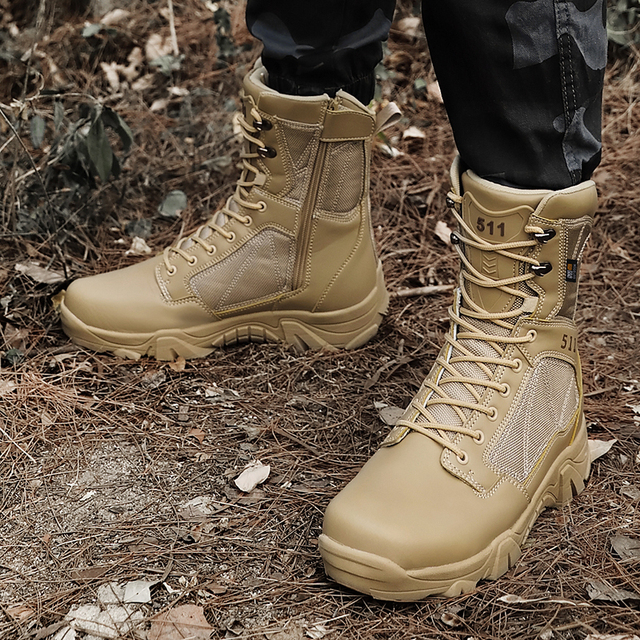 Botas t cticas de senderismo natural para hombre botas militares impermeables zapatillas de deporte de invierno