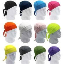 Séchage rapide casquette de cyclisme tête écharpe été hommes course à pied Bandana foulard Ciclismo Pirate casquette bandeau hommes tête écharpe