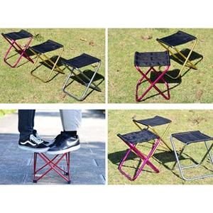 Image 3 - Vilead 2サイズ折りたたみためキャンプスツール超軽量7075アルミポータブルキャンプピクニック観光屋外折り畳み椅子