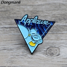 L1371 Aladdin and The magic lamp Metal Brooches and Pins Enamel Pin for Backpack/Bag Badge Brooch T-shirt Collar Jewelry 1pcs k313 trick r treat horror pins metal brooches and pins enamel pin for backpack bag badge brooch t shirt halloween jewelry