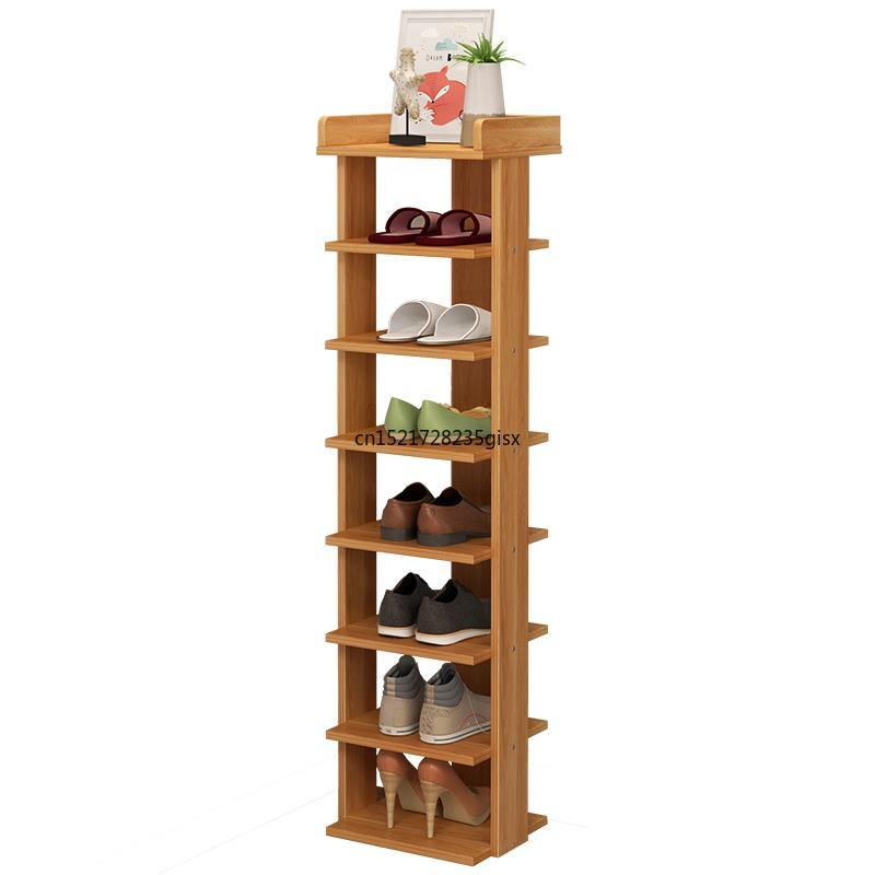 Wood Shoe Rack  Easy Assemble Storage Shelf Shoe Cabinet Fashion Shoe Rack Stand Shoe Organizers Assembled Living Room Furniture