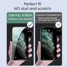 3PCS Full Cover Protective Glass On For iPhone 11 7 8 6 6s Plus SE 2020 Screen Protector For iPhone X XR XS 11 12 Pro Max Glass