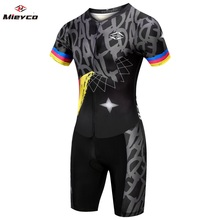 Cycling Clothing Man 2019 Triathlon Suit Cycling Jersey Set Summer MTB Bike Clothes Bicycle Skin suit Swimming Running uniform ironman triathlon clothes ride running suit cycling wear tri suit sleeveless triathlon wetsuit for man and woman