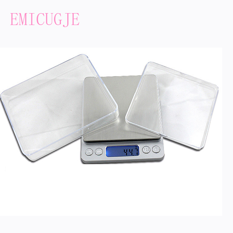 Portable 5kg 1g Digital Scale Steelyard 3kg 0.1g Kitchen Scales Postal Food Balance Measuring LCD Electronic Scales