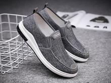 купить Stylish men summer espadrilles simple British style breathable and comfortable driving shoes men casual shoes 2019 men sneakers по цене 972.41 рублей