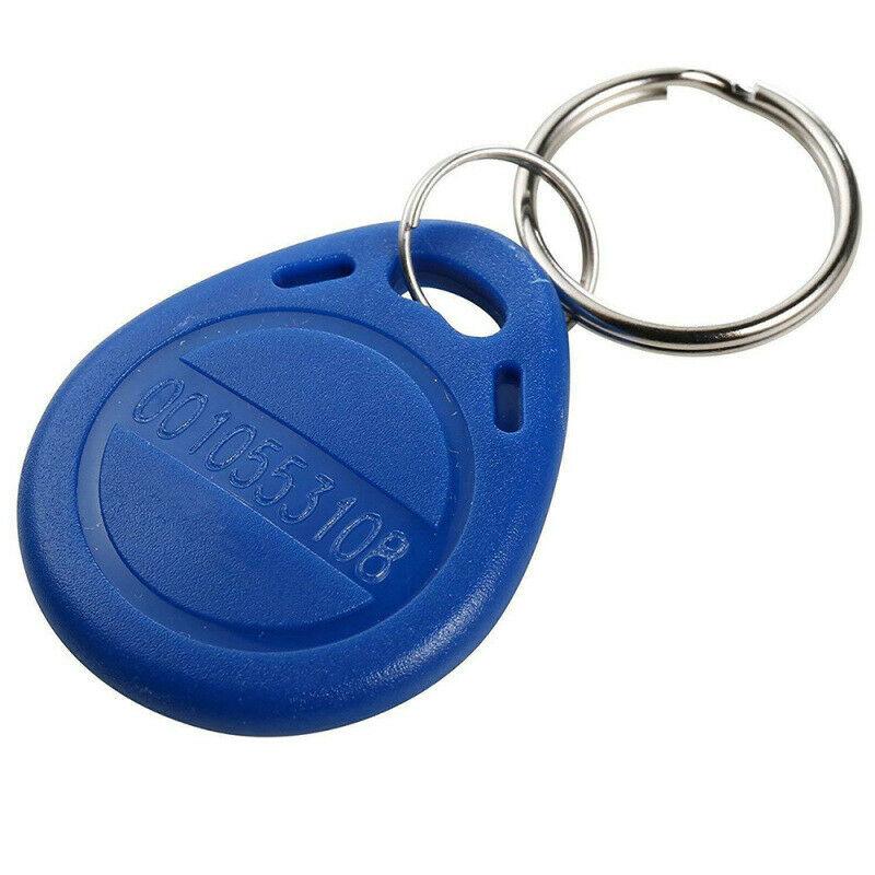 10pcs EM4100 TK4100 125khz ID Badge Keyfob RFID Tag Proximity Tags Card Llavero Porta Chave Read Only Access Control RFID Card