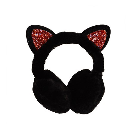 Women Kid Cute Earmuffs Ear Muffs Kids Lovely Cat Ear Muff Warmer Lovely Warm Ear Muffs For Kids Women Teenager Girls