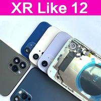 Copribatteria per iphone XR in 12 iphone XR in iPhone 12 custodia XR Lite 12 custodia Cover posteriore di alta qualità cavo + strumenti