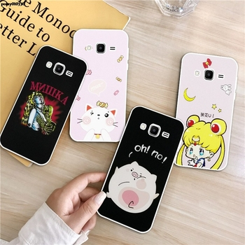 Hand 2 Silicon Soft TPU Case Cover For Samsung Galaxy Core Grand Prime Neo Plus 2 G360 G530 I9060 G7106 Note 3 4 5 8 9 image