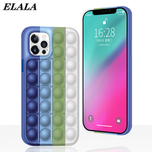 Phone Case for iPhone 12 Mini 11 Pro Max XS XR SE 2020 7 8 Plus Soft Silicone Shockproof Protection Stress Reliever Back Cover