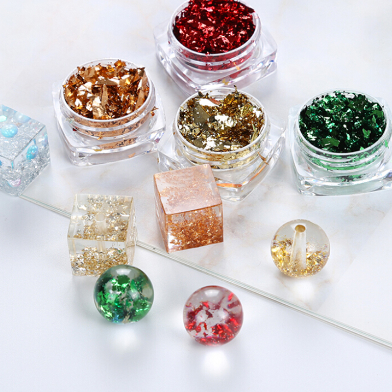 DIY Jewelry Making Epoxy Mold Crafts UV Resin Filling Glitter Accessories Tool