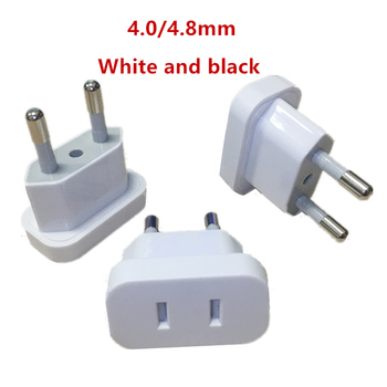 1pcs US To EU Euro Europe Plug Power Plug Converter Travel Adapter US to EU Adapter Electrical Socket eu europe euro to us usa ac power plug travel charger adapter converter