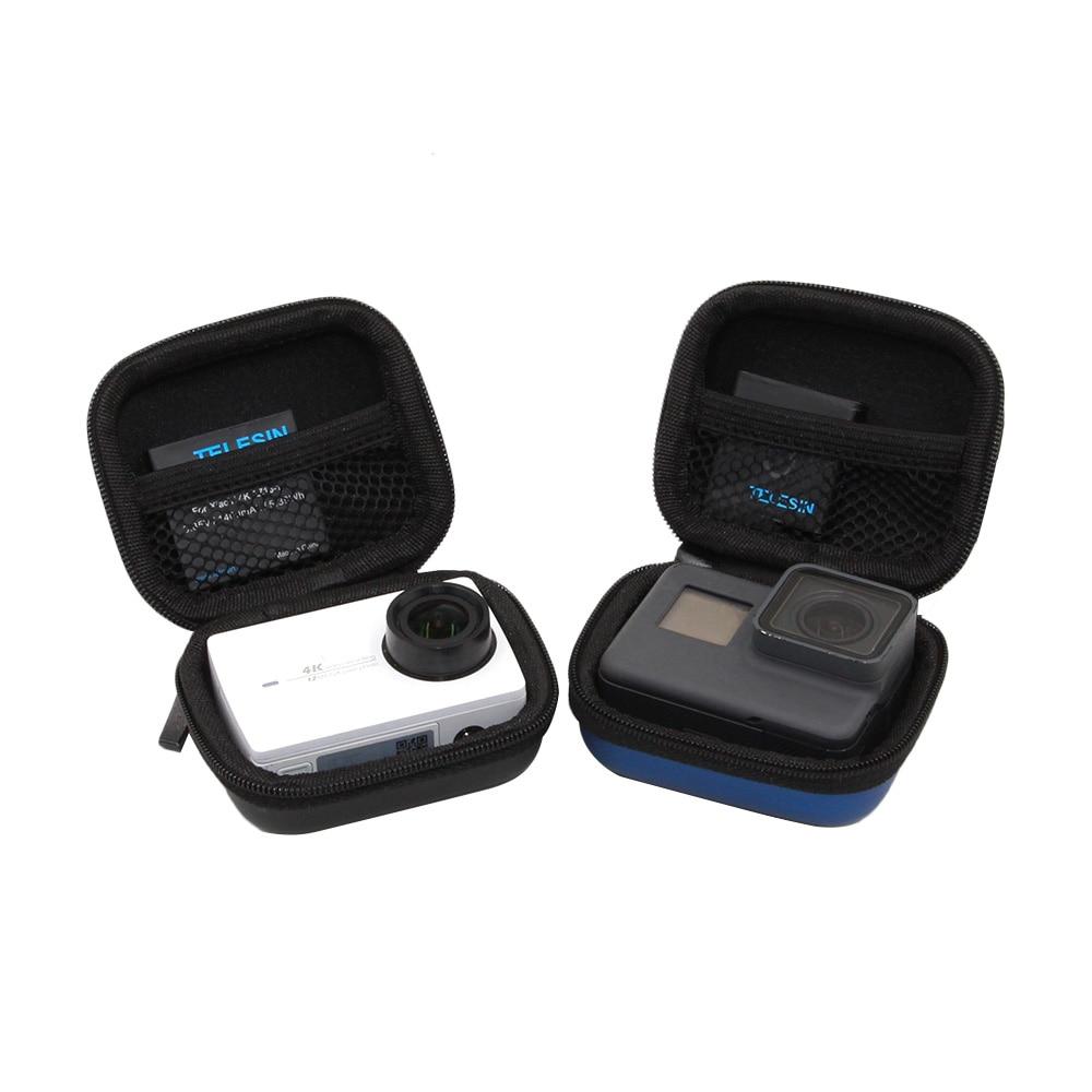 Telesin Waterproof Small Storage Case Mini Camera Bag Protector Bag For Gopro Hero 8 7 6 5 Osmo Action Xiaomi Yi 4k For Sjcam Bags For Gopro Camera Bagmini Camera Bag Aliexpress