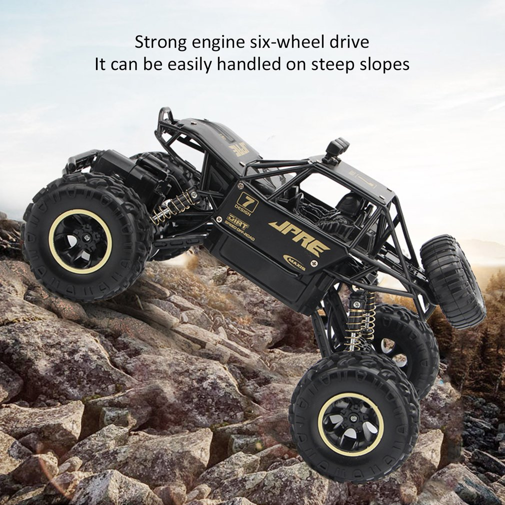 4WD Remote Control High Speed Vehicle 2.4Ghz Electric RC Toys Monster Truck Buggy Off Road Toys Kids Suprise Gifts|RC Cars| |  - title=