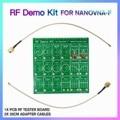 NIEUWE 1 Set RF Demo Kit NanoVNA RF Tester Board Vector Network Test Filter Verzwakker voor NanoVNA-F Vector netwerk Anaylzer