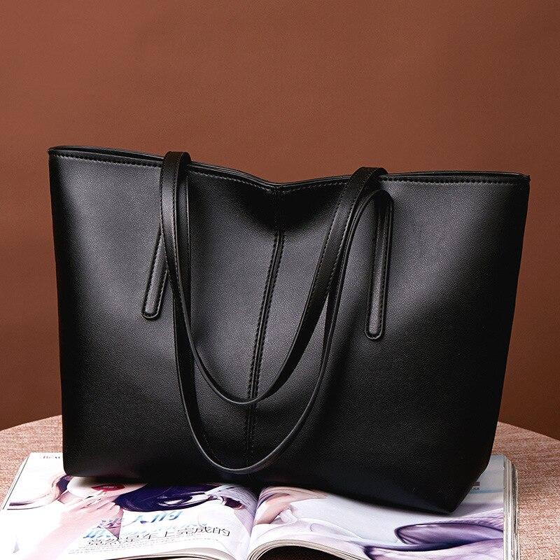 New-Bag Handbags Lading-Shoulder Fashion Joker of Large-Capacity Simple