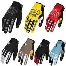 Profissão de escalada ao ar livre antiderrapante respirável atv bmx mtb bicicleta luvas dedos completos motocross bicicleta ciclismo luvas acessórios